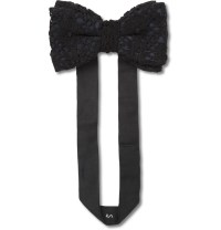 Lyst - Marwood Lace and Silk Bow Tie in Blue for Men