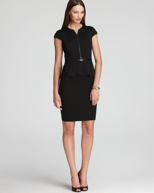 Elie Tahari Lanetta Dress In Black Lyst
