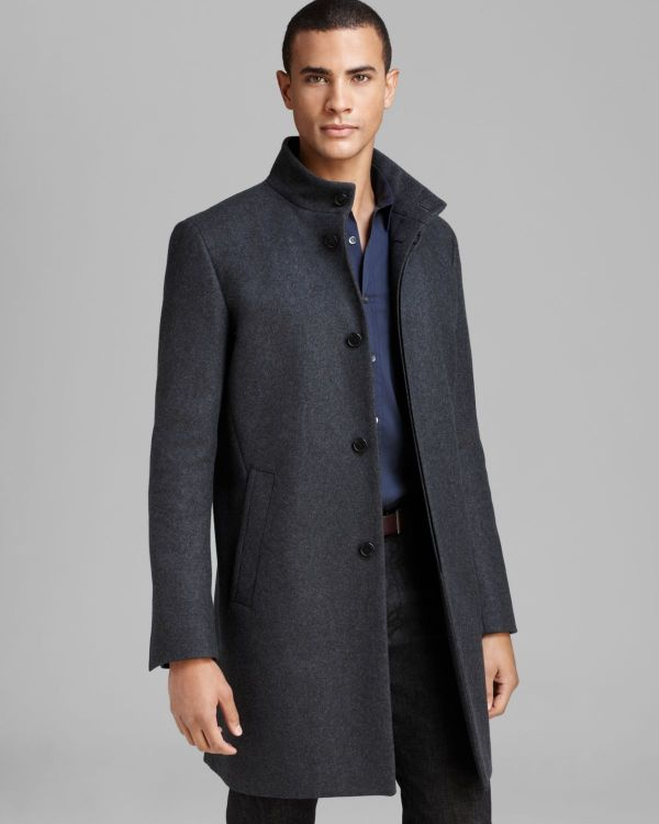 Theory Grey Coat Men