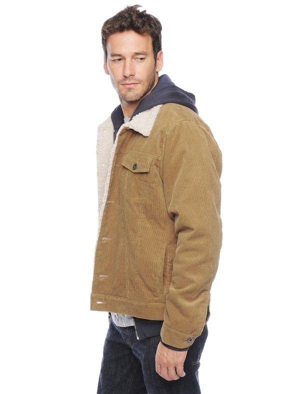 Tan Corduroy Jacket Men