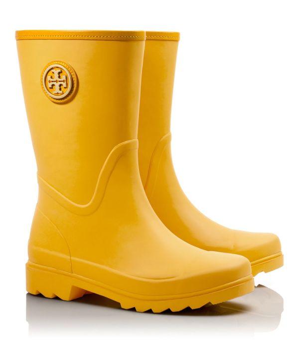 Lyst - Tory Burch Maureen Rainboot In Yellow