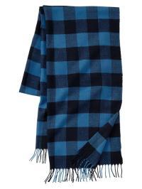 Gap Buffalo Checkered Scarf in Blue for Men (blue allure ...
