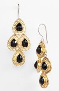 Black And Gold Earrings For Men ImagesJordanisadore