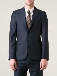 Lyst - Burberry Tie in Natural for Men