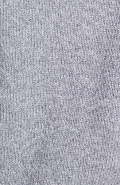 Original Penguin Wool Mock Neck Zip Sweater with Elbow