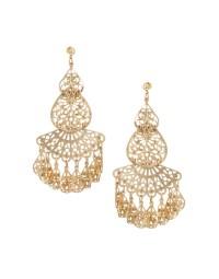 Asos Filigree Earrings in Gold | Lyst