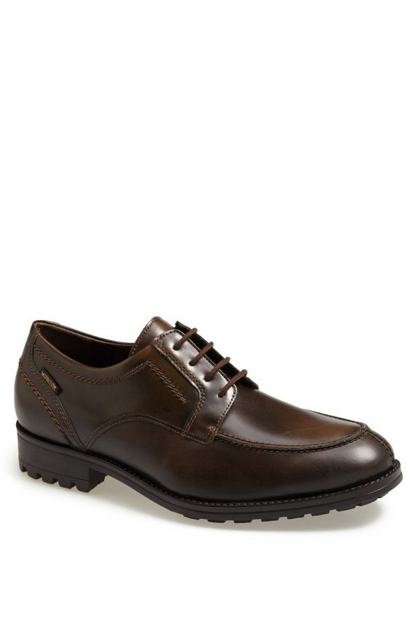 Mephisto Ilmar Laceup Split Toe Oxford In Brown Men Leather Lyst
