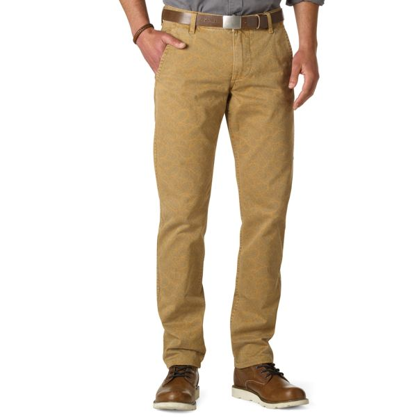 Dockers Slim Fit Alpha Khaki Pants In Men Cumin