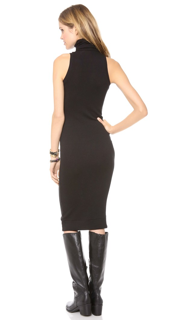 Rachel Pally Sleeveless Turtleneck Dress - Black In