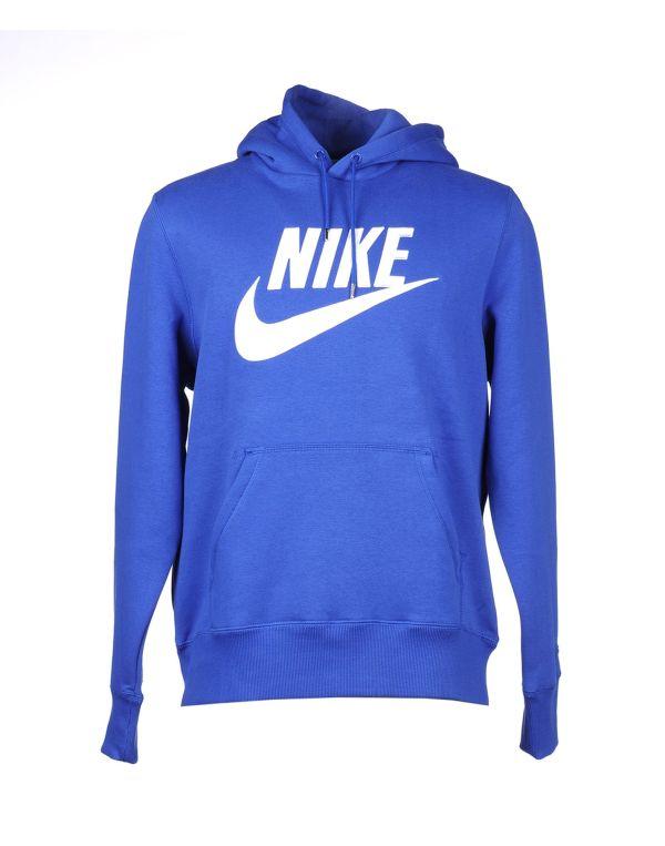 Nike Hooded Sweatshirt In Blue Men Bright Lyst