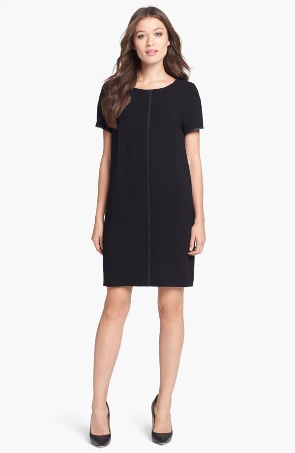 Elie Tahari Gina Dress In Black Lyst