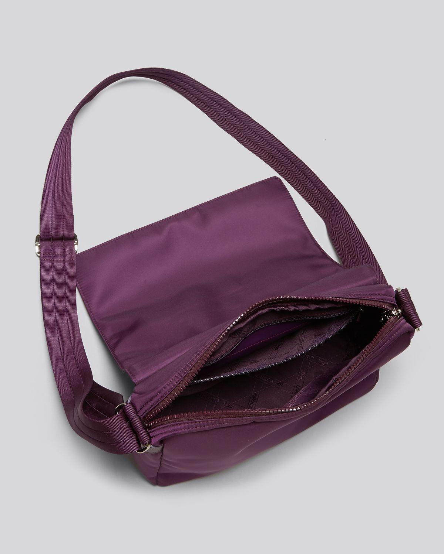 Longchamp Messenger Le Pliage Neo In Purple Lyst