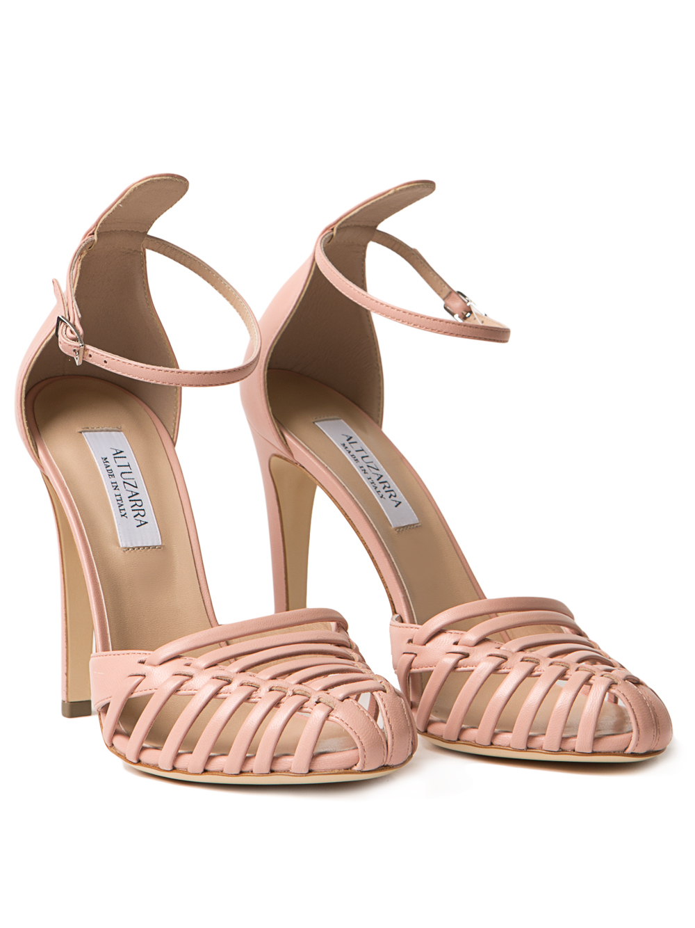 Lyst - Altuzarra Coco Toe Cap Sandals in Pink