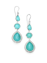 Turquoise and Silver Earrings  Jewelry