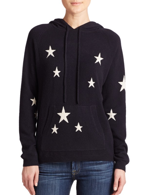 Cashmere Sweater with Stars