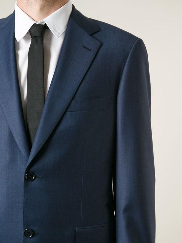 Brioni 'parlamento' Suit In Blue Men - Lyst