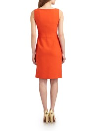 Tory burch Zachary Shift Dress in Orange | Lyst