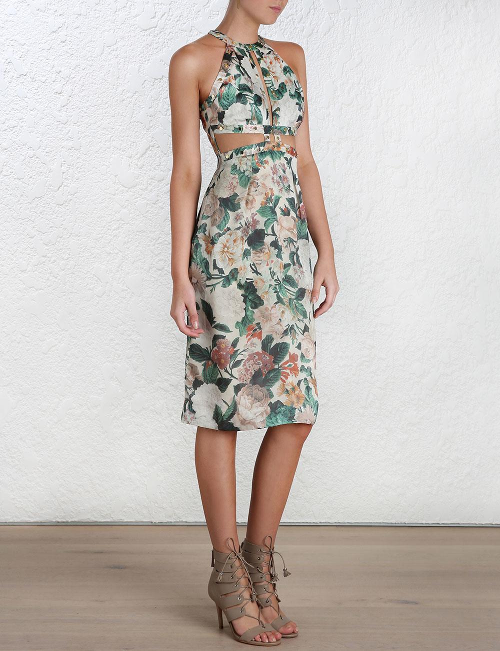 Zimmermann Floral Dress 2015
