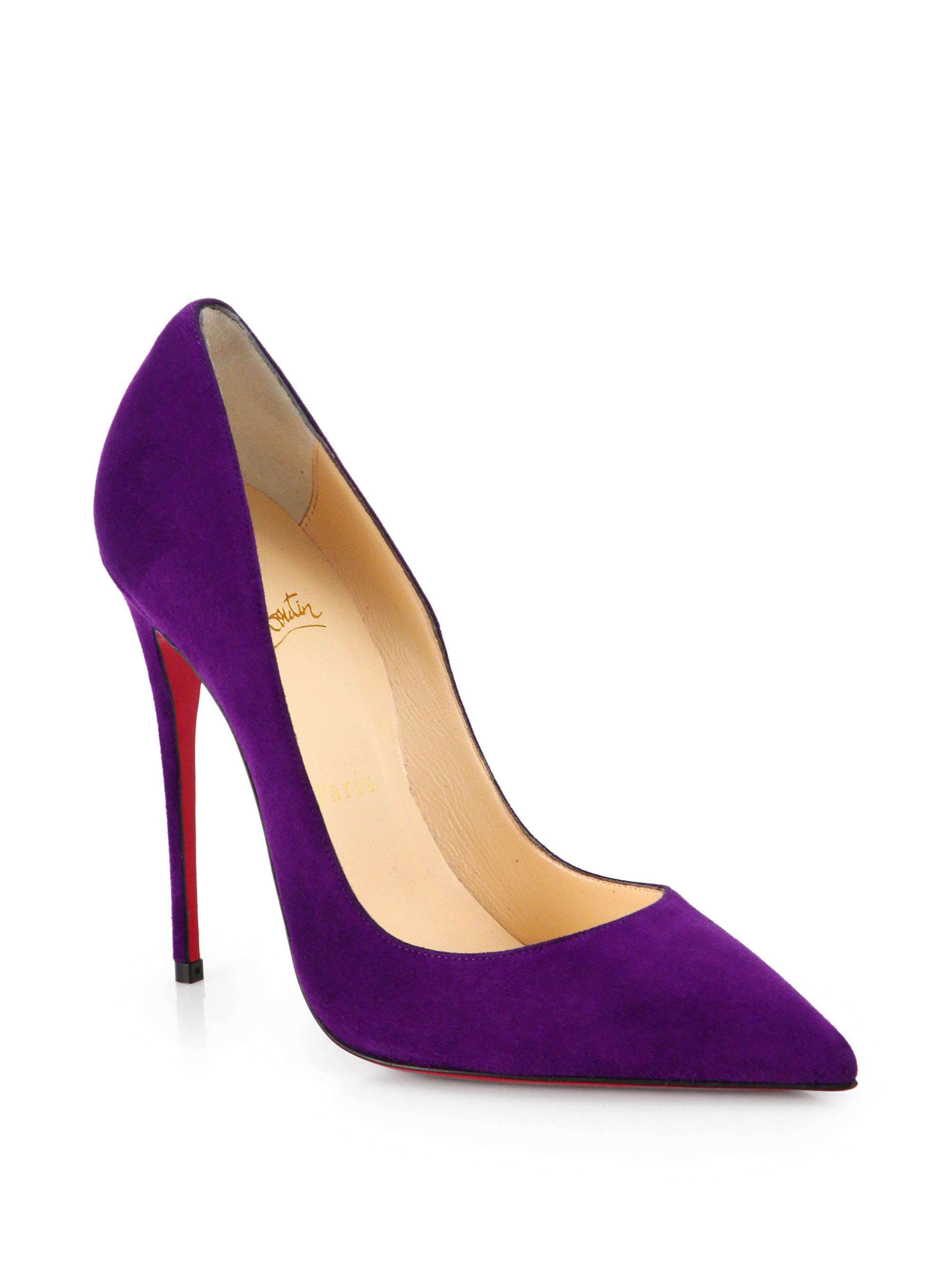 Purple Christian Louboutin