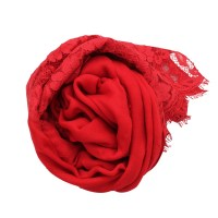 Valentino Lace Shawl in Red | Lyst
