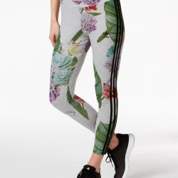 86d1638c08ad8 Adidas Flower Print Leggings   Gardening: Flower and Vegetables