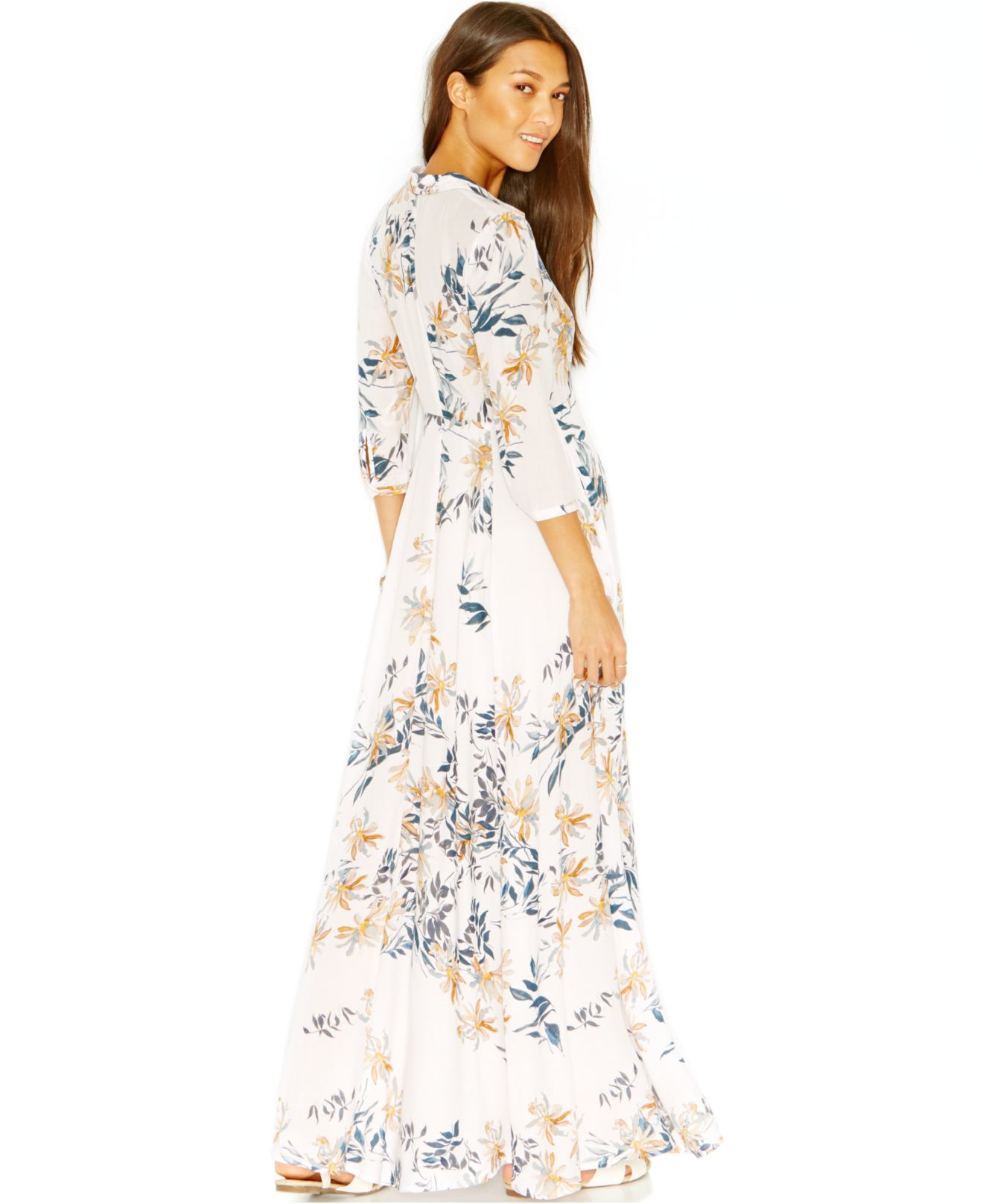 Free People Floral Dress Maxi