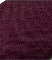 Drake's Plum Handrolled Silk Tussah Tie in Purple for Men