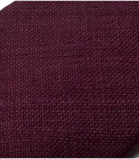 Drake's Plum Handrolled Silk Tussah Tie in Purple for Men ...
