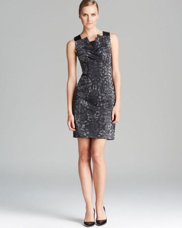 Elie Tahari Miranda Dress In Black Lyst