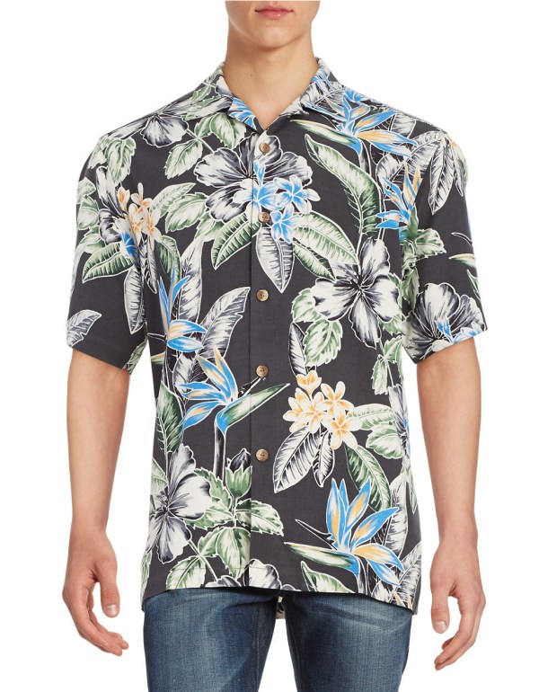 Lyst Tommy Bahama Big Island Blooms Silk Sportshirt in