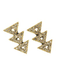 House of harlow 1960 Tessellation Earrings in Gold (rose ...