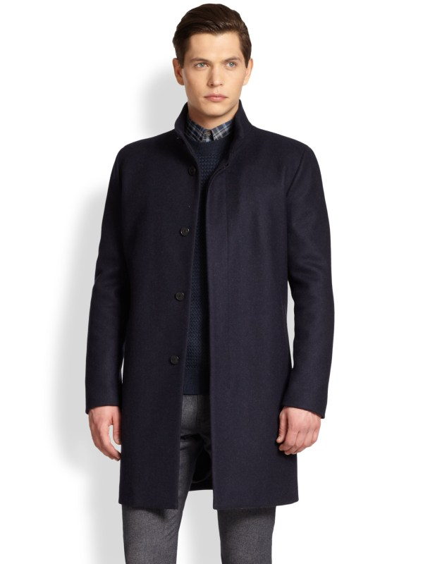 Theory Belvin Topcoat