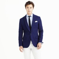 J.crew Ludlow Shawl-collar Dinner Jacket In Fiore Cotton ...