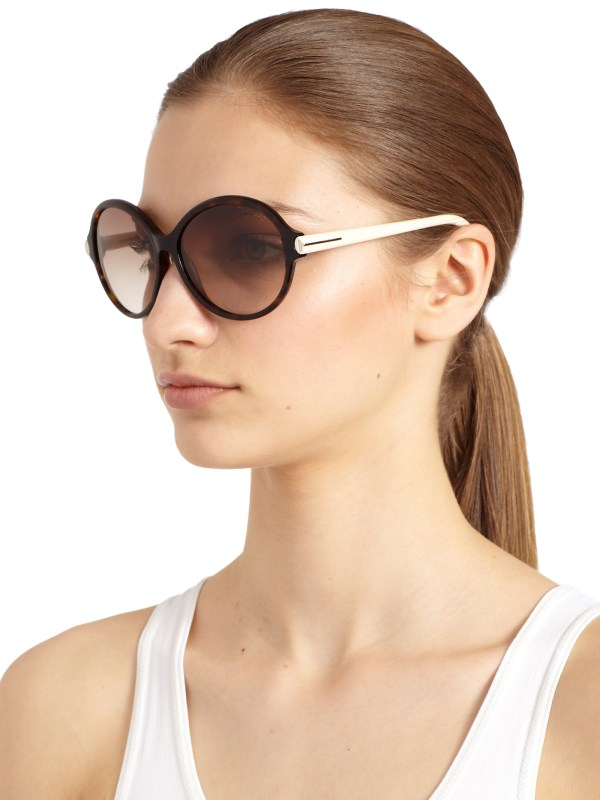 Lyst - Tom Ford Milena Sunglasses In Brown