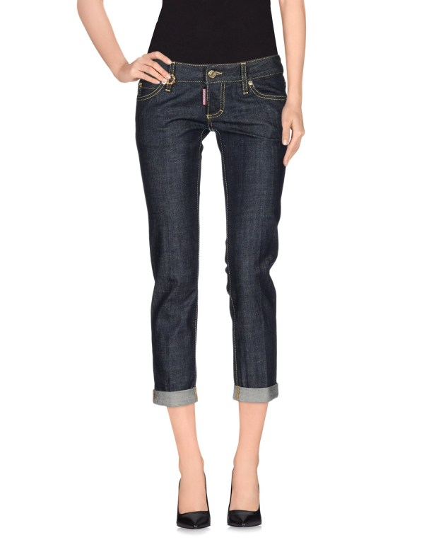 Lyst - Dsquared Denim Capris In Blue
