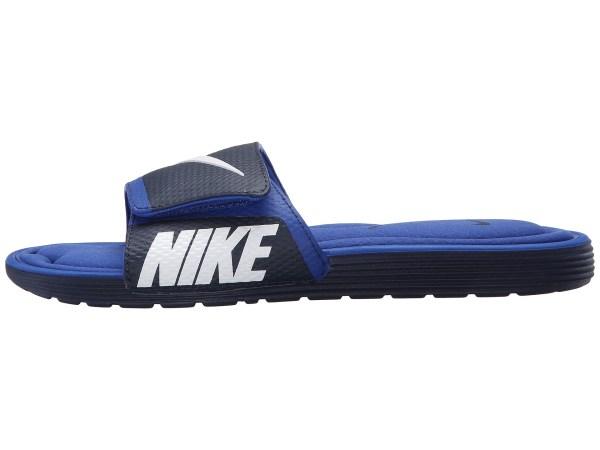 Nike Solarsoft Comfort Slide In Blue Men Lyst