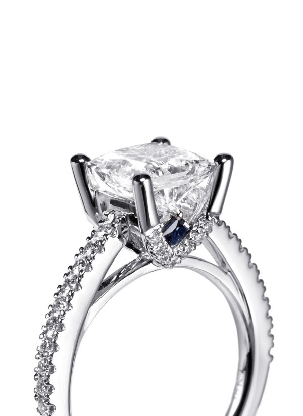 Lyst - Vera Wang Love Boutique Diamond And White Gold