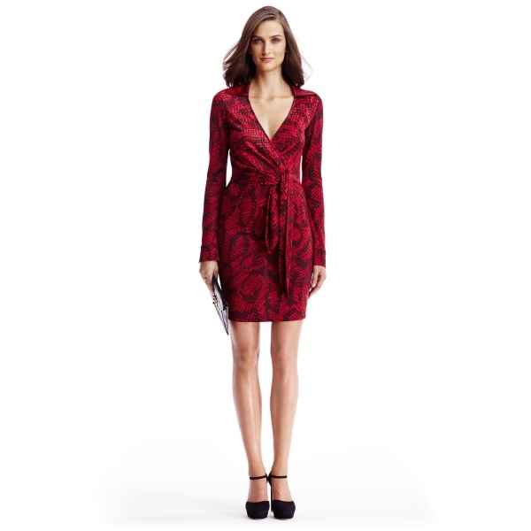 Diane Von Furstenberg Dvf Savannah Silk Jersey Dress In