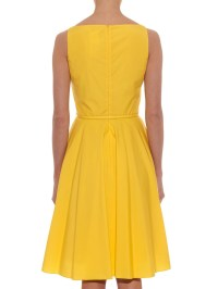 Max mara studio Asiago Dress in Yellow | Lyst