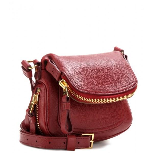 Tom Ford Jennifer Mini Shoulder Bag In Red - Lyst