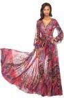 Purple Long Flowy Maxi Dresses