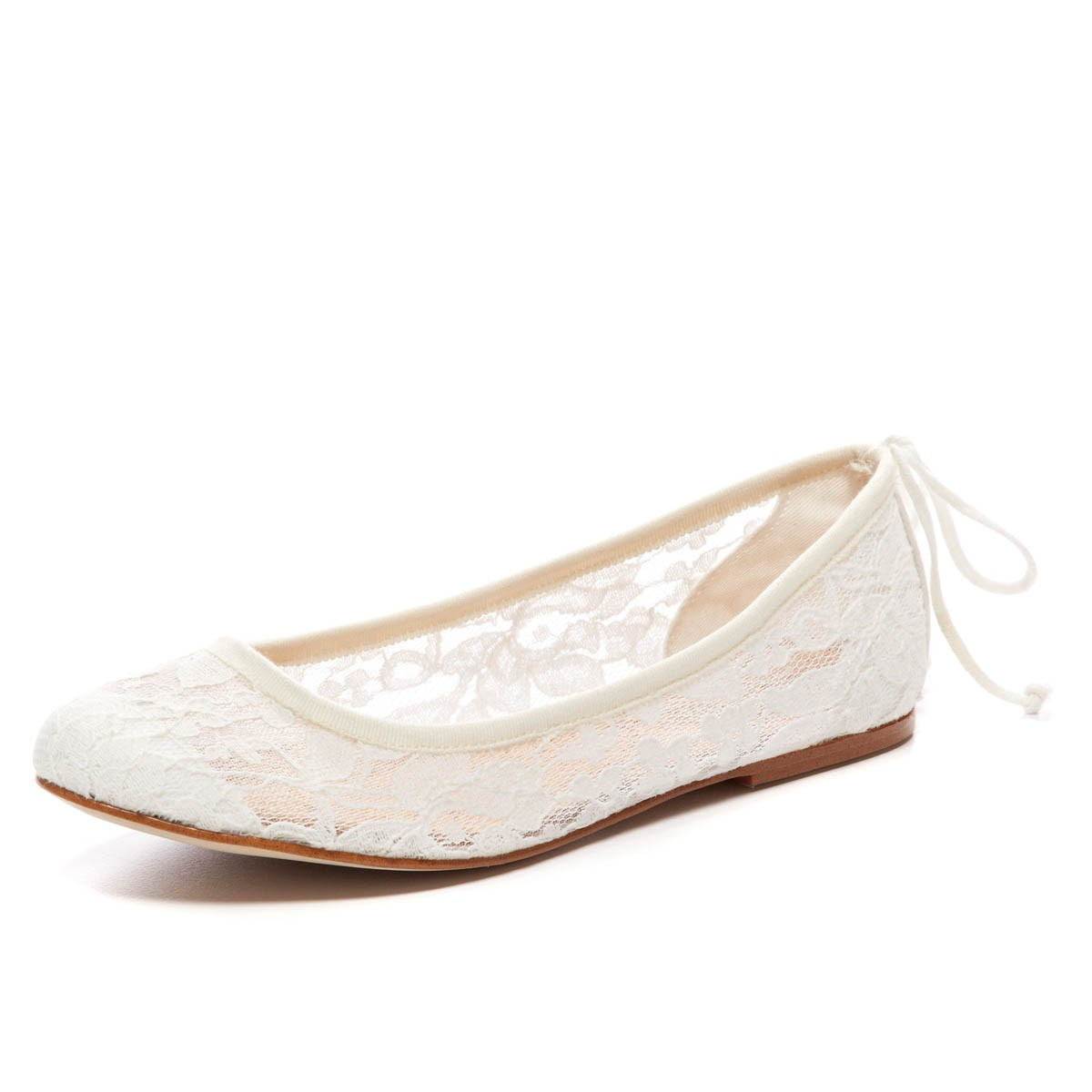 Soludos Chantilly Lace Ballet Flat in White  Lyst