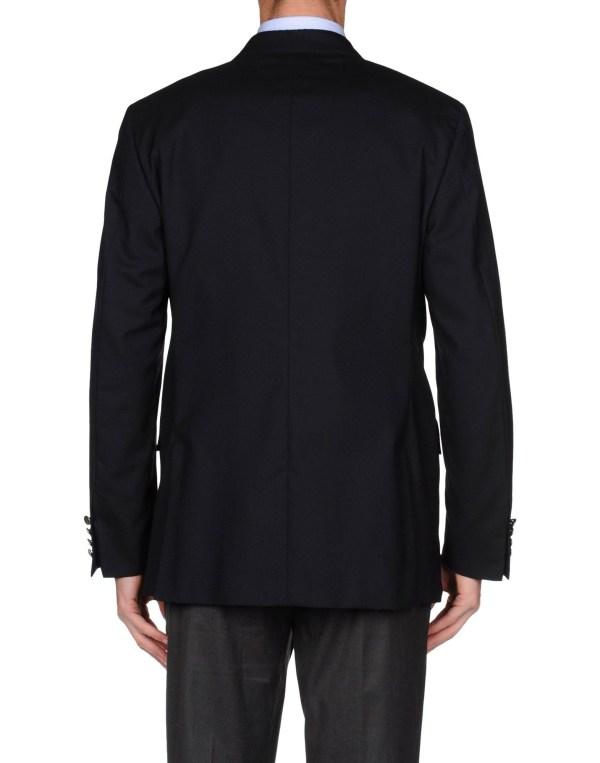 Polo Ralph Lauren Blazer In Black Men Dark Blue Lyst
