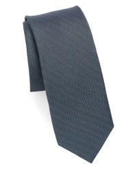 Calvin klein Medallion Print Slim Silk Tie for Men | Lyst