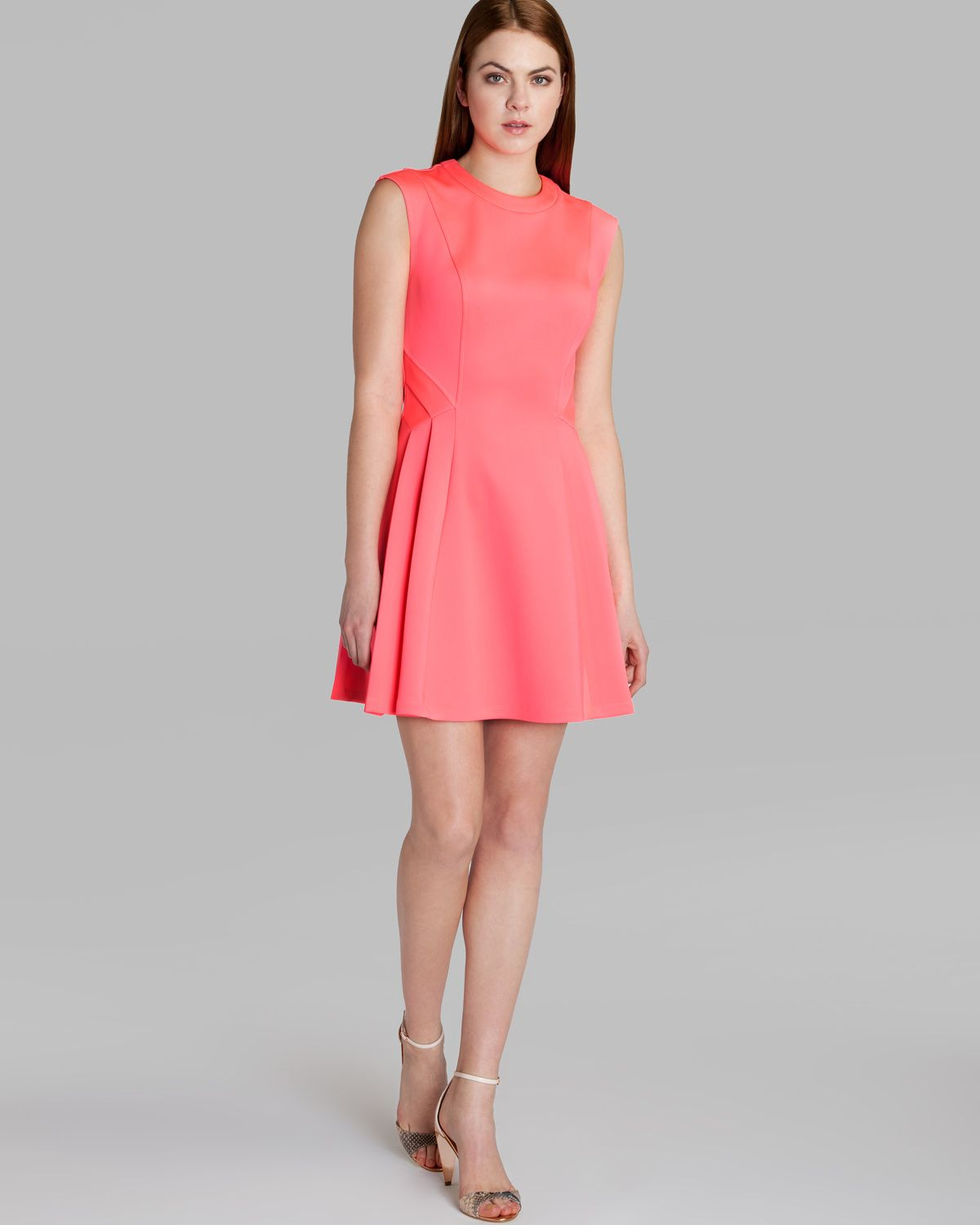 Ted Baker Dress Nistee Skater In Pink | Lyst
