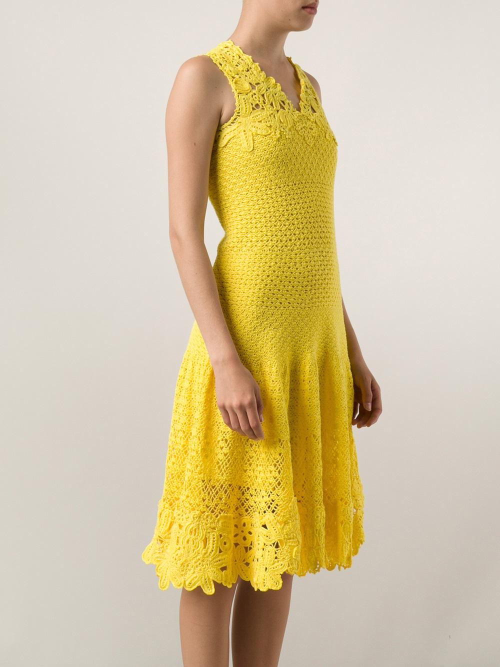 Yellow Dress Casual