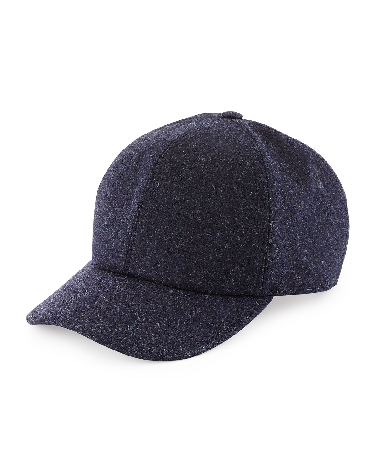 d1cefa14a4b Lyst Brunello Cucinelli Wool Baseball Hat In Blue For Men Free ...