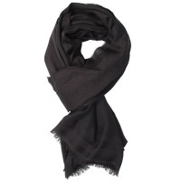 Emporio armani Scarf in Black for Men | Lyst