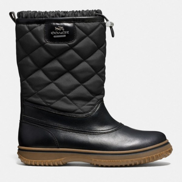 Lyst - Coach Samara Boot In Black