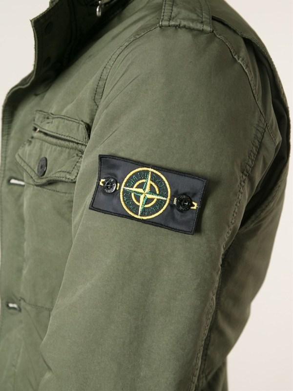 Stone Island Military Jacket In Green Men - Lyst